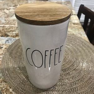 New Rae Dunn coffee container holder